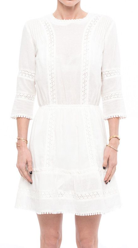 The perfect little white summer dress