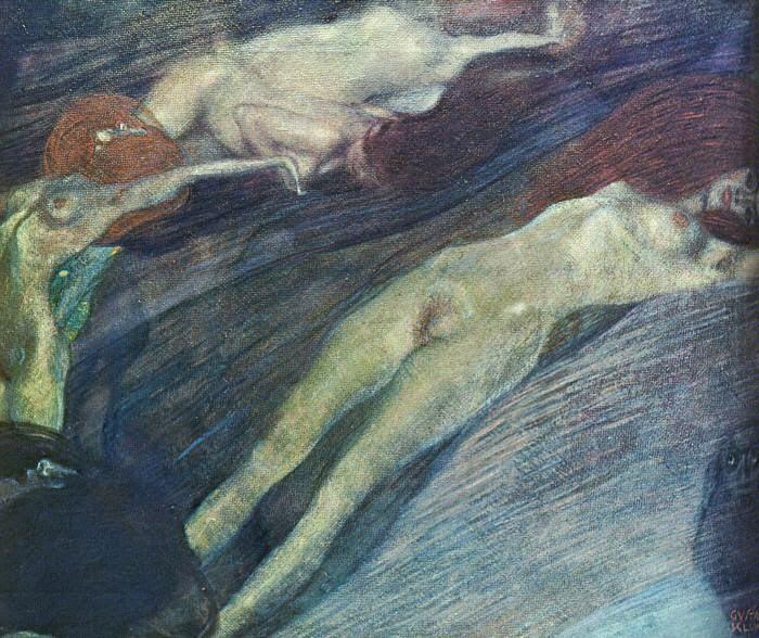 Água em Movimento - Gustav Klimt e suas pinturas ~ Pintor simbolista austríaco