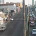 Trânsito lento na avenida Salgado Filho