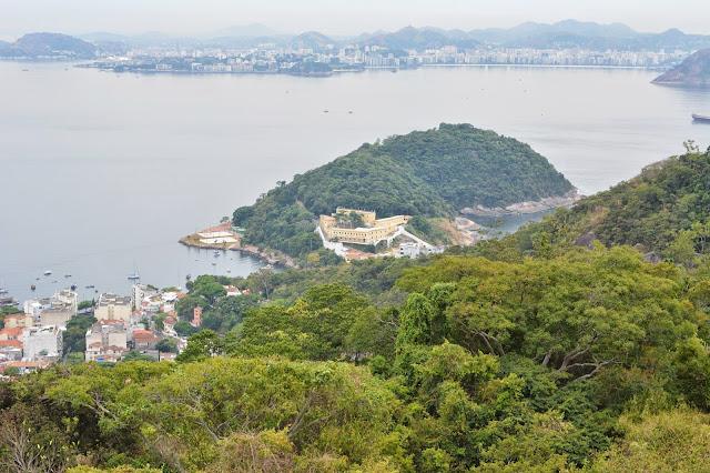 Guanabara körfezi, Copacabana, Ipanema, Botafogo ve Flamengo plajları