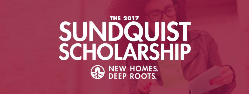 Shoreline Area News Sundquist Homes Offering Scholarship