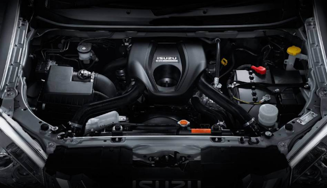 2017 Isuzu MU-X Engine