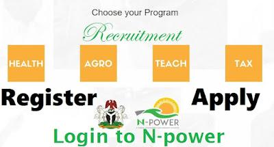 www.npower.com - Registration Form Online Download | Login @ www.apply.npower.gov.ng