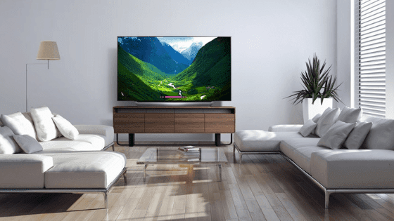 Impress Your Friends & Family with the 77''class LG OLED TV