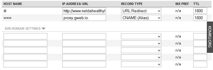 windows live custom domains