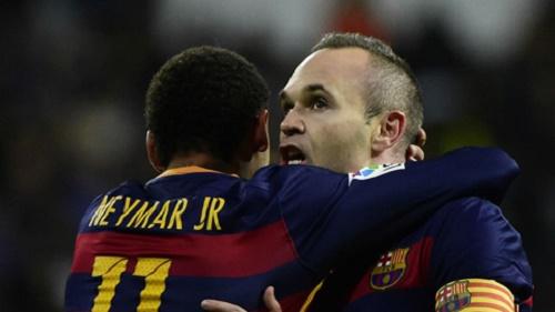 Iniesta đã để lại nhiều dấu ấn không thể nào quên