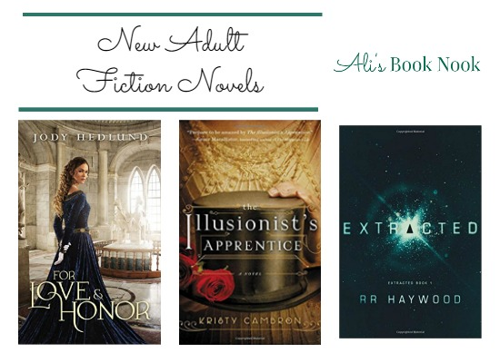Historical Fiction and Science Fiction Adult books out March 7