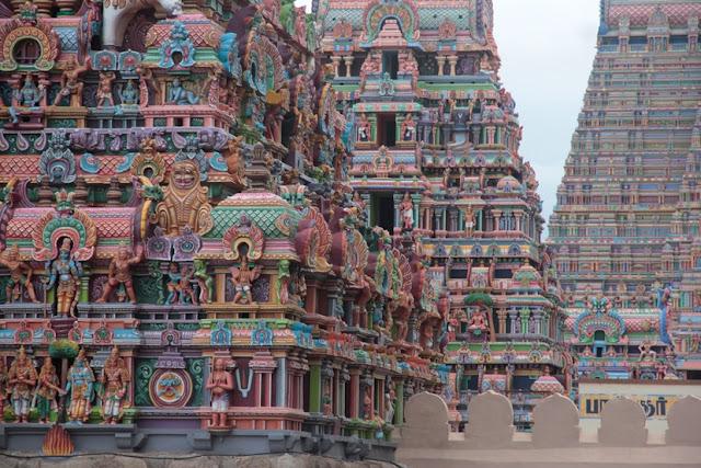 gopuram srirangam
