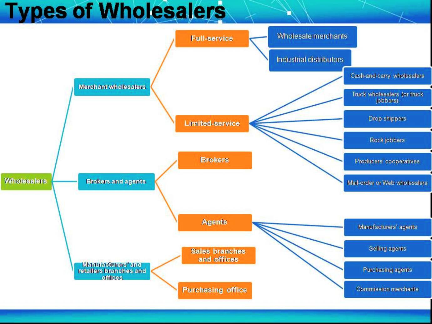 wholesaling 2 which types of wholesalers are you in marketing