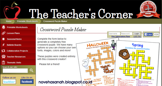 ada aplikasi mudah untuk membuat TTS dan gratis di Teacher's Corner. Dapat digunakan untuk membuat Lembar Kerja Peserta Didik dan digunakan untuk keperluan mengajar
