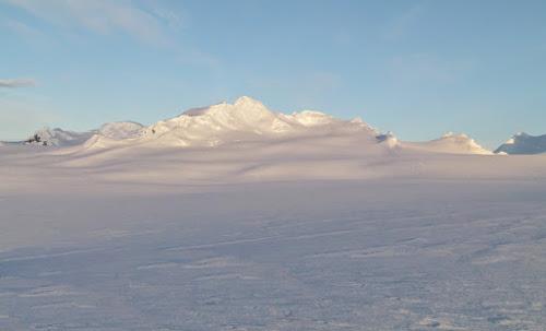 Cordilheira A - Antártida - Lugar mais frio do mundo
