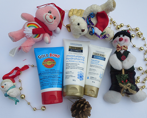Stuff your Stockings with Gold Bond ~ #Review #Giveaway #2016GiftGuide