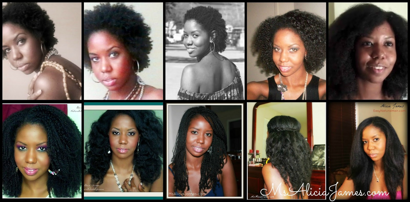 Natural Hair Journey- From Big Chop to Waist Length  CurlyNikki