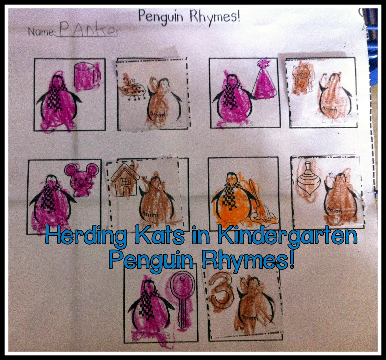 Herding Kats In Kindergarten Penguins