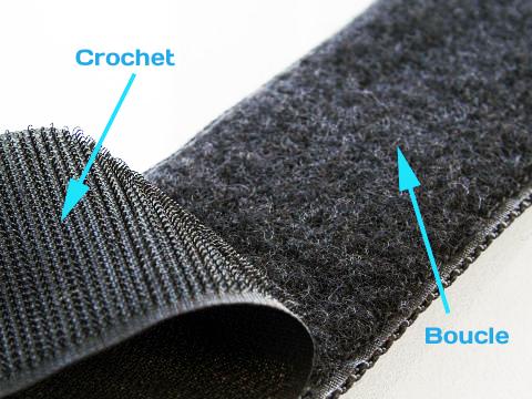 velcro scratch auto agrippant boucle vs crochet le. Black Bedroom Furniture Sets. Home Design Ideas