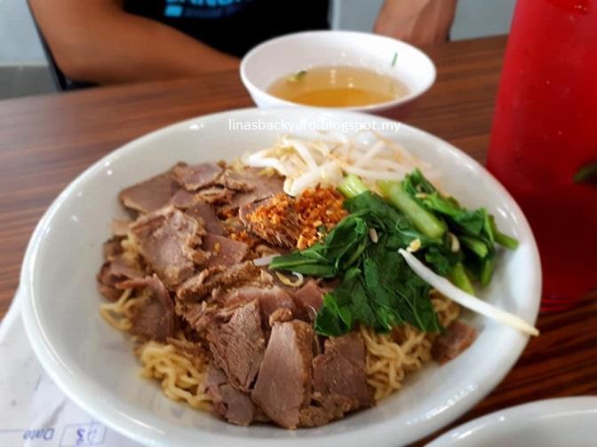 Hubby Ordered Mee Kolok Special I Laksa Sarawak