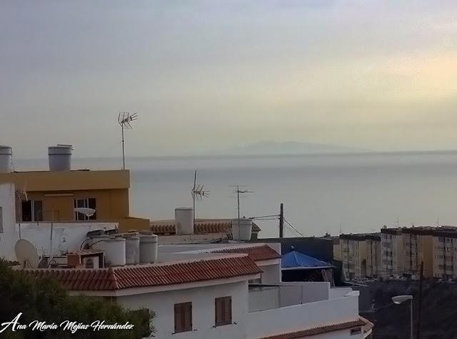 Fuerteventura se ve desde Las Palmas de Gran Canaria, martes 28 noviembre