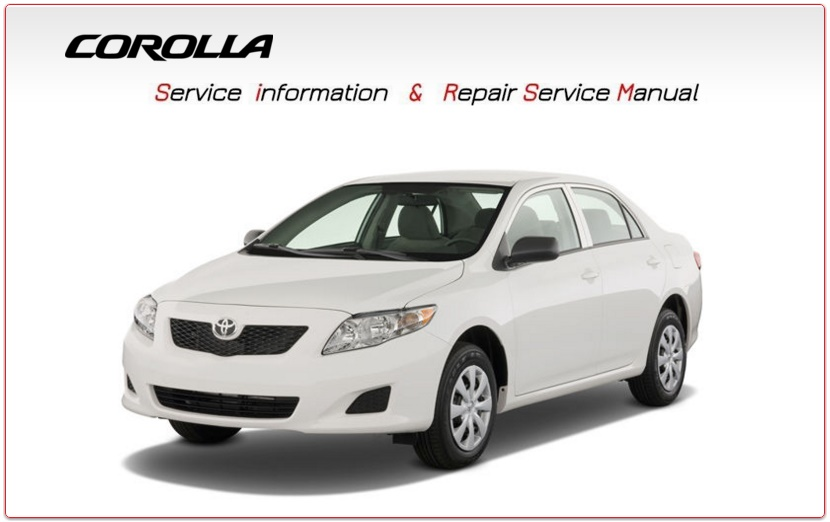 TOYOTA COROLLA 2010 WORKSHOP MANUAL GO