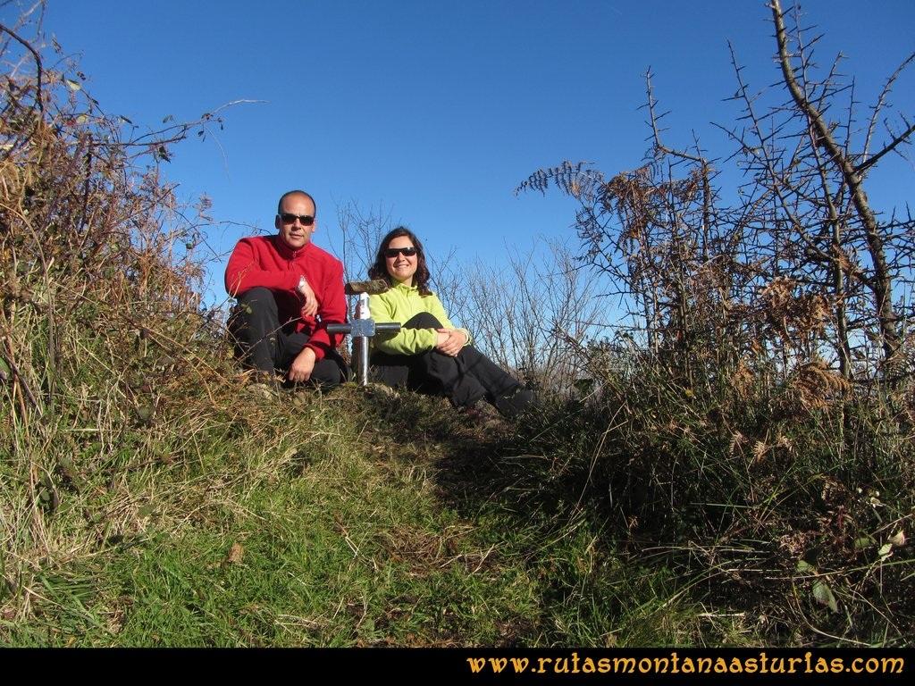 Area Buyera, picos Grandamiana y Plantón: Cima del Grandamiana
