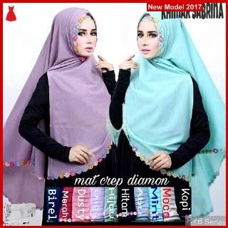 RYB068B Hijab Jilbab Cantik Khimar Murah Sabrina BMG Online Shop