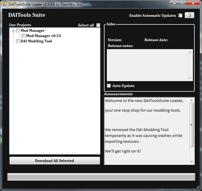 DAITools Suite Loader