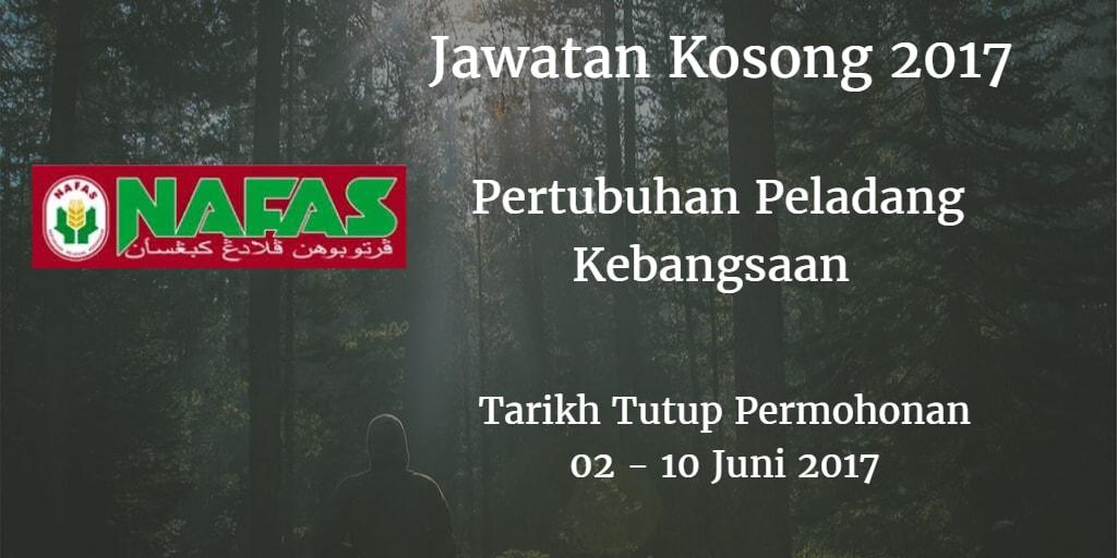 Jawatan Kosong Nafas 14 Juni - 05 Julai 2017
