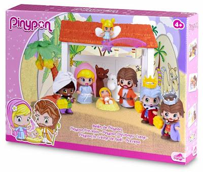 TOYS : JUGUETES - PINYPON Belen : Navidad 2016 Producto Oficial 2016 | Famosa 700013091  A partir de 4 años | Comprar en Amazon España