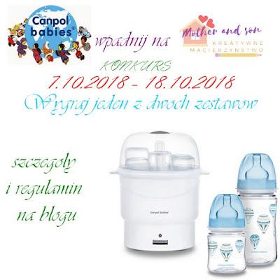 Konkurs z Canpol Babies : wygraj zestaw sterylizator i butelki dla swojego maluszka!
