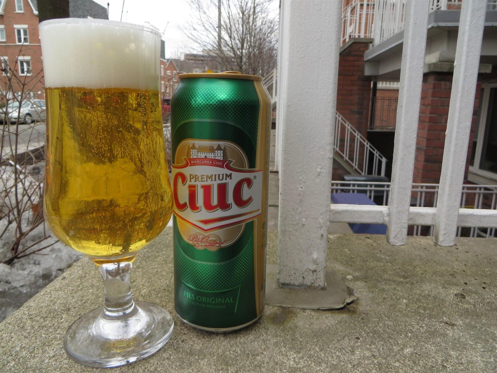 The World Of Gord Beer Of The Week Ciuc Premium Pilsner