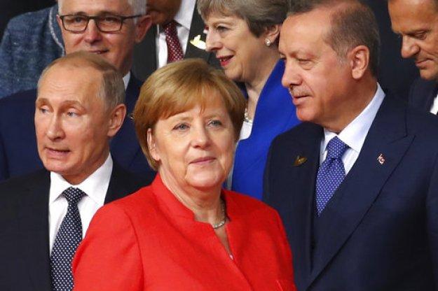 Να γιατί η Μέρκελ έχει ανάγκη τον Ερντογάν και τον Πούτιν