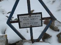Buzón de cima del Pico Cunio