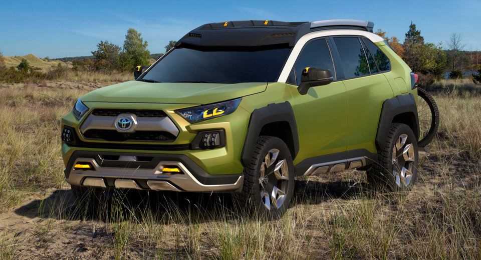 Adventure concept: Toyota's next Rav4 in disguise?