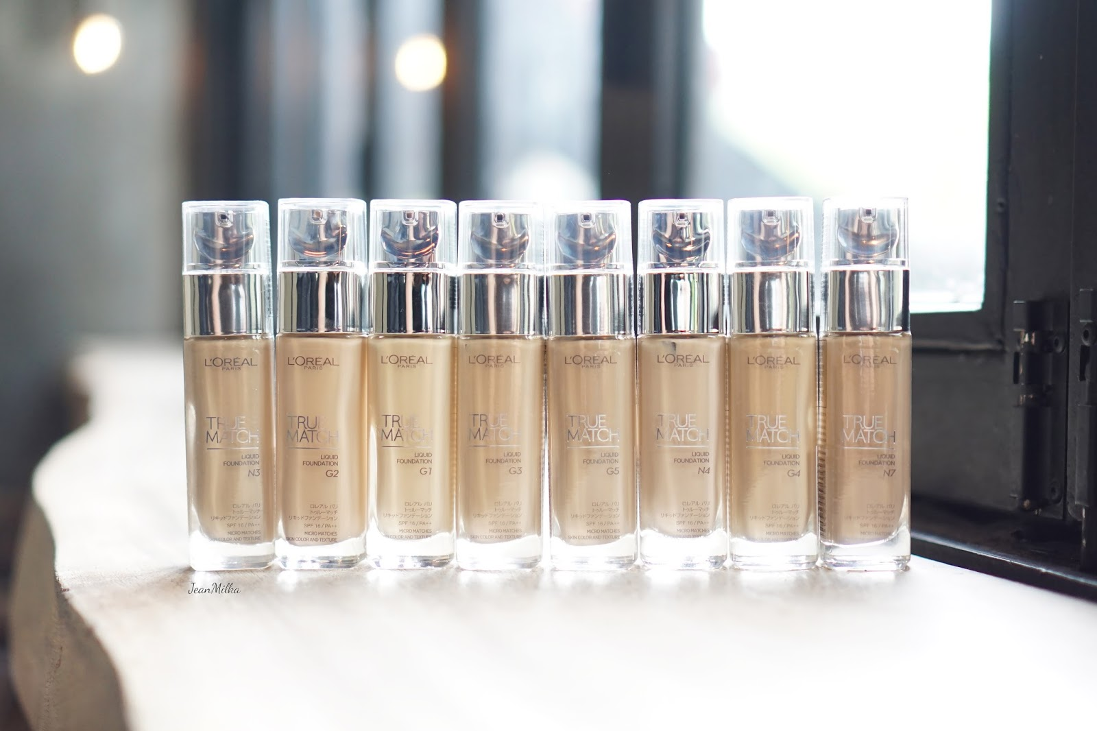 loreal, loreal true match, liquid foundation, loreal true match liquid foundation, swatch loreal true match, true match all shade, loreal true match swatch, review, foundation, drugstore foundation
