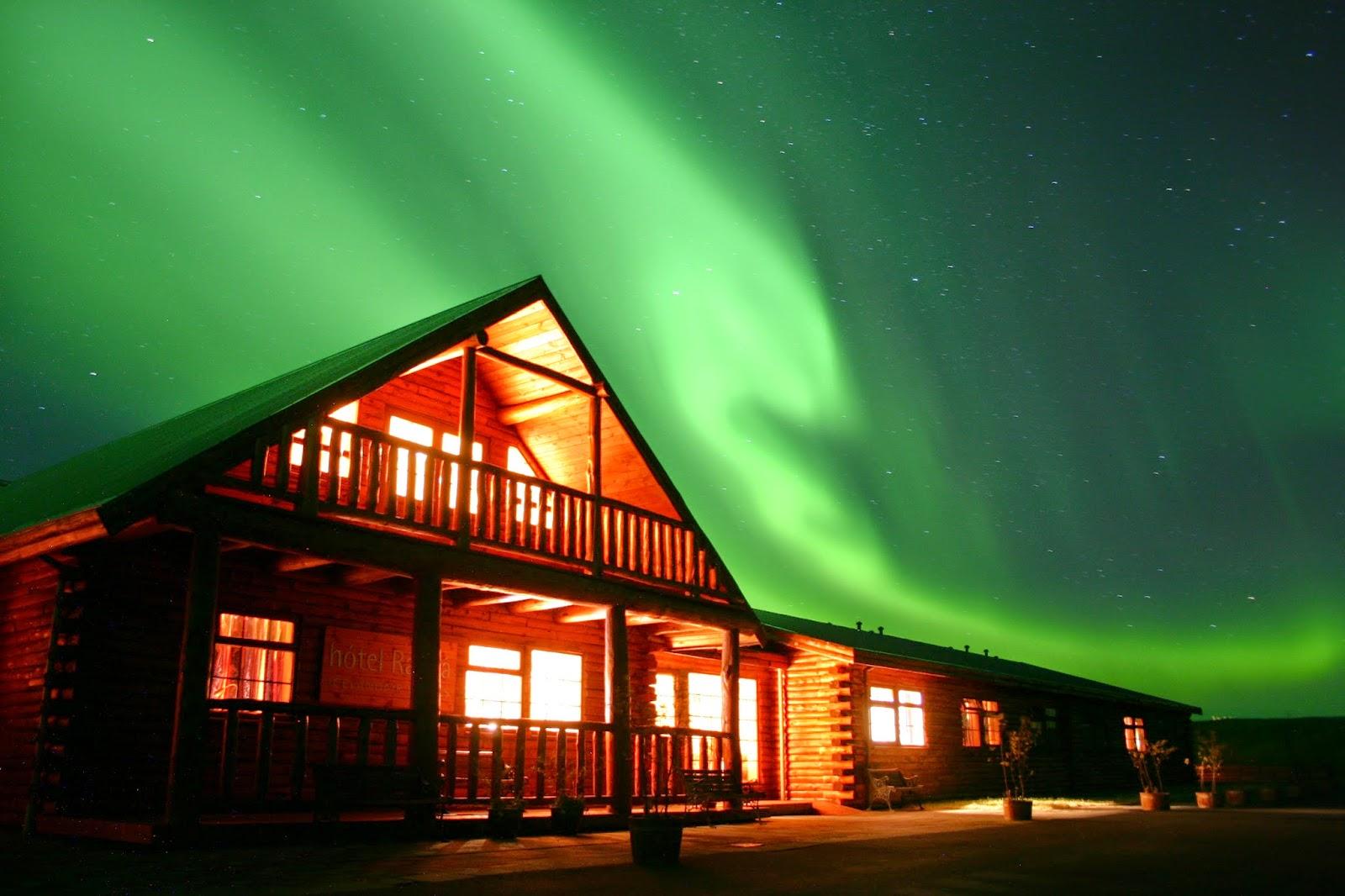 Hôtels romantiques en Islande : Lune de miel en Islande