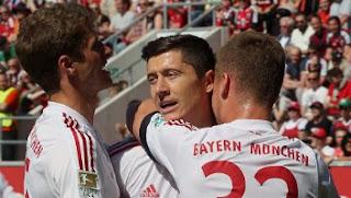 Ingolstadt vs Bayern Munich 1-2