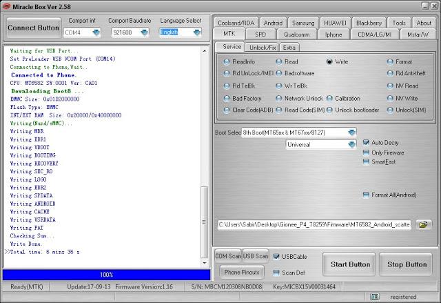 FlashGSM: Miracle Box 2 58 100% Working Crack Free Download