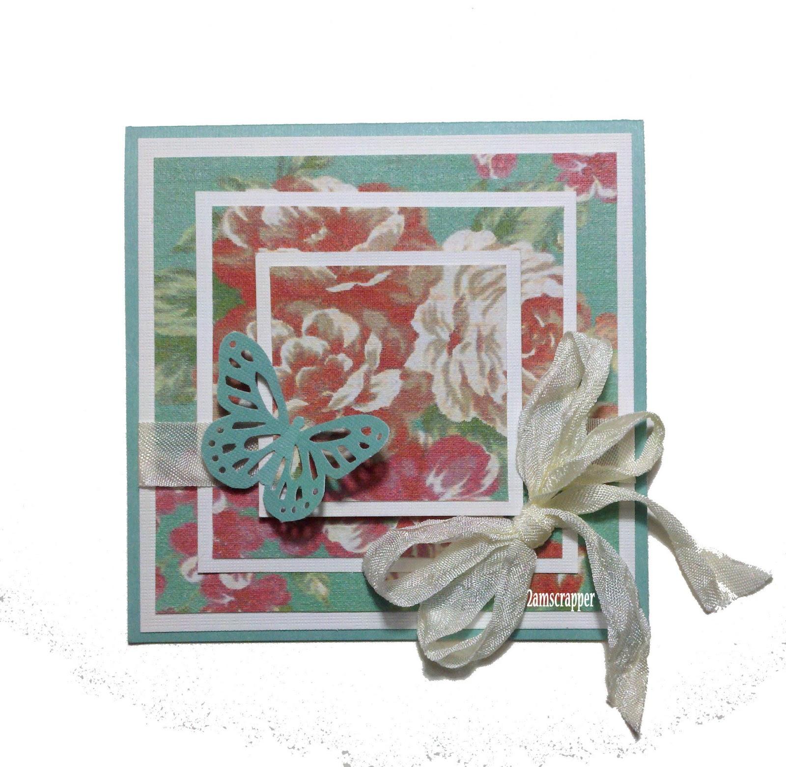 Lotsa Scrap From 2amscrapper A Layered Floral Card