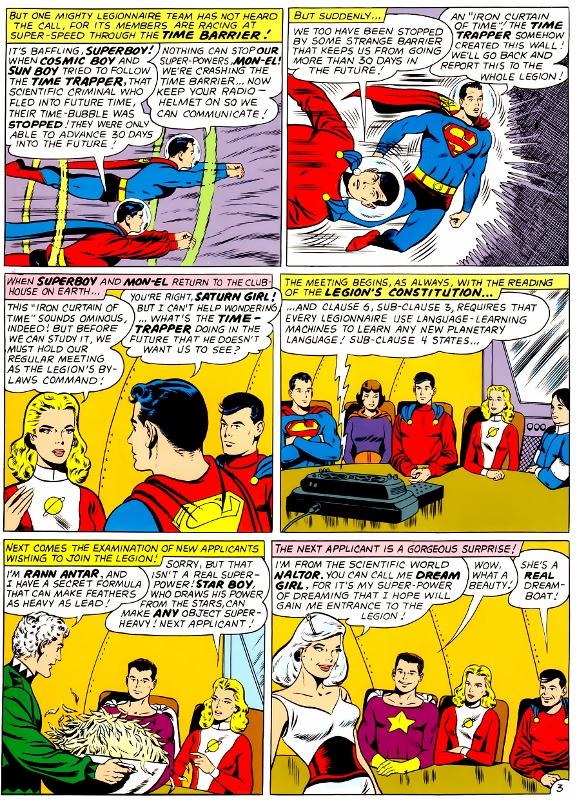 The Legion of Super Bloggers! : TOS: Adventure Comics #317