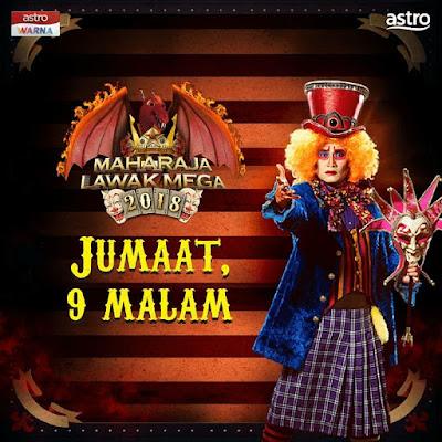 Live Streaming Maharaja Lawak Mega 2018 Minggu 4 (23.11.2018)