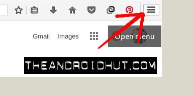 menu icon firefox