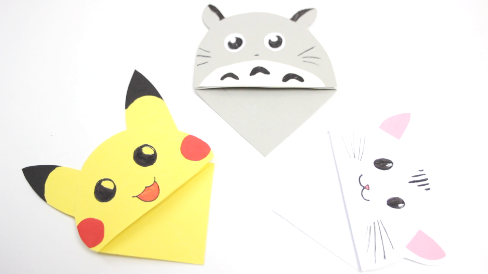 Origami Pikachu Tutorial ☆ Pokemon DIY ☆ Paper Kawaii - YouTube | 900x1600