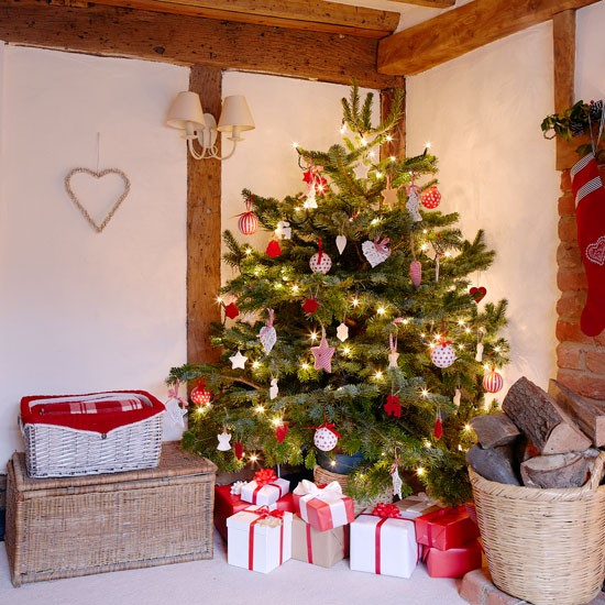 Modern Country Style: Christmas Country Cottage Tour
