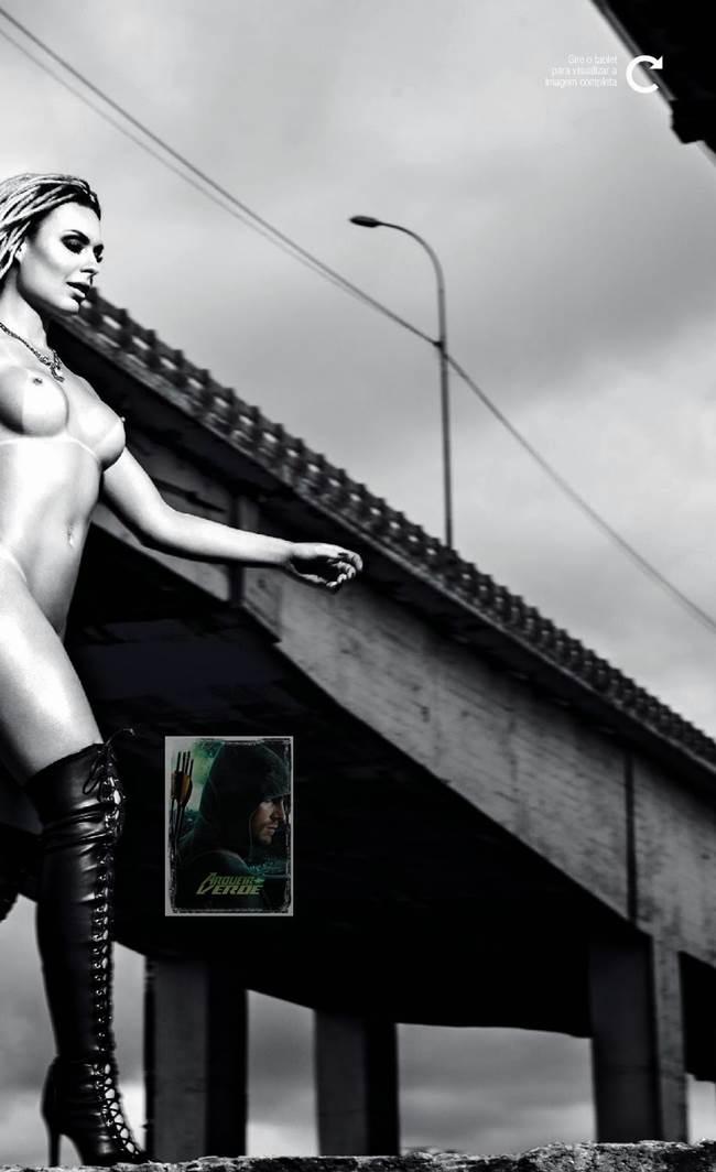 "Fernanda Lacerda ""Mendigata"" pelada nua na Playboy 30"