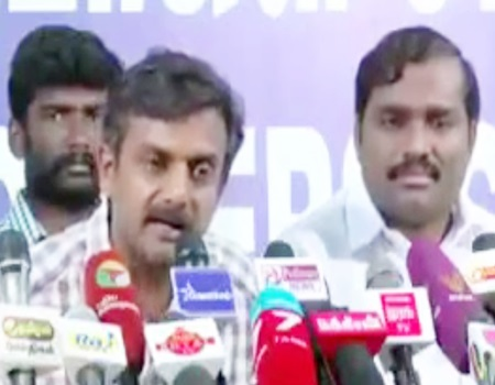 Police considered public as enemy : Police attacked innocent people : Thirumurugan