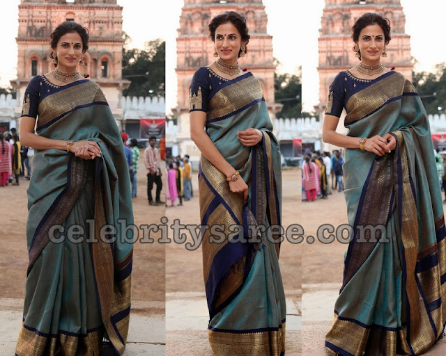 Designer Shilpa Reddy's Traditional Look