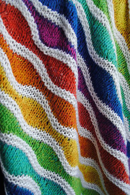 Lizard Ridge Baby Blanket - Free Pattern