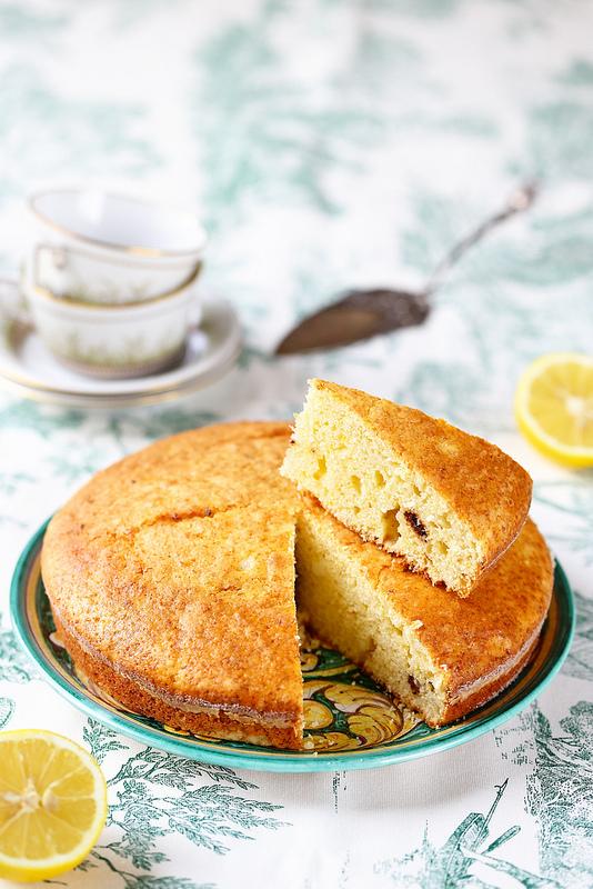 Recettes de Sardaigne. Gâteau ricotta et citron
