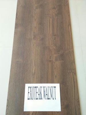 lantai parket eazyfloor type exotic walnut