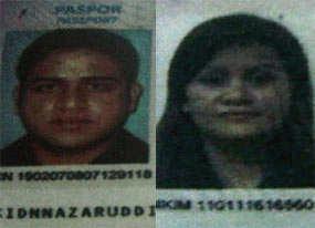 Nazaruddin, Ditangkap, Bersama, Istrinya