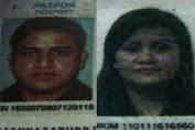 Nazaruddin Ditangkap Bersama Istrinya